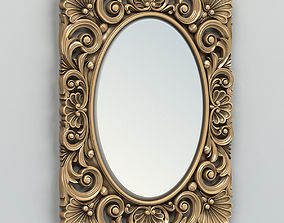 Rectangle mirror frame 005 3D model