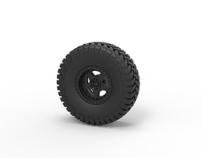 3D print model Diecast Wheel of Trophy truck