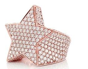 3D printable model Star ring
