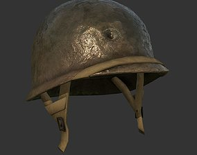 Helmet Military WW2 Soldier Army 3D asset