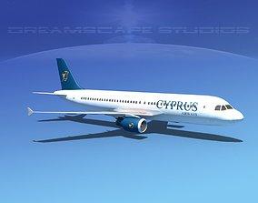 3D model Airbus A320 LP Cyprus Airways