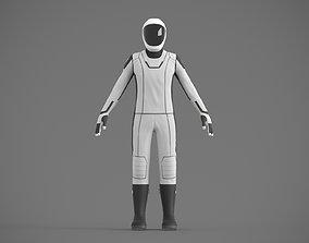 SpaceX spacesuit martian suit astronaut 3D model