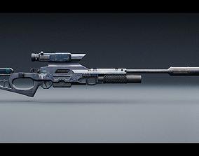 3D asset CSRX 300 Sniper