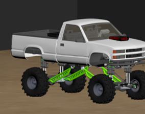 3D model 1994 K1500