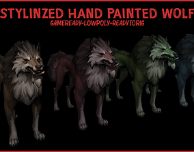 3D model Stylized Hand Painted