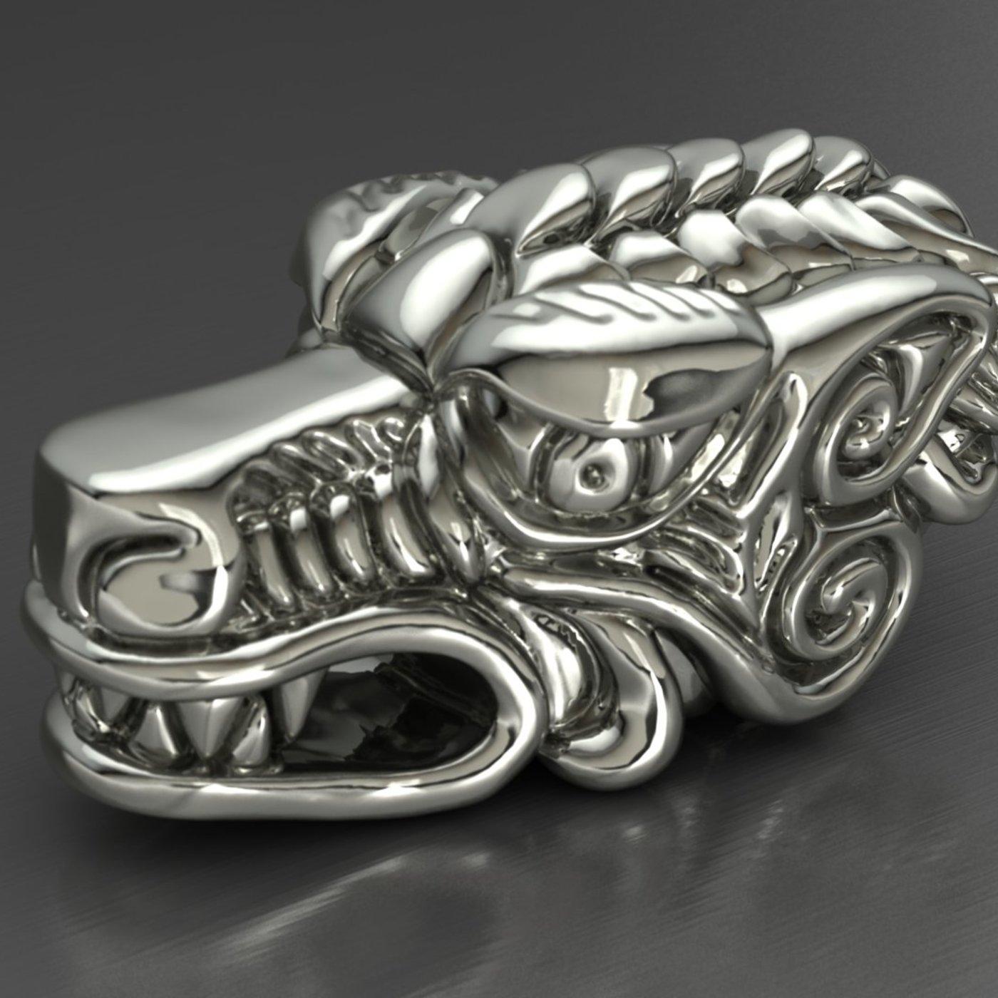 Dragon bracelet head