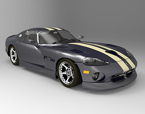 Dodge Viper Lightwave Studio Max 3D model