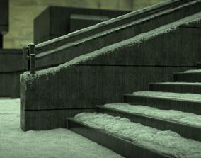 3D model The Death of K - Blade runner 2049 ending scene