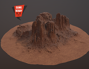 CANYON ROCK PBR Low-Poly 3D asset