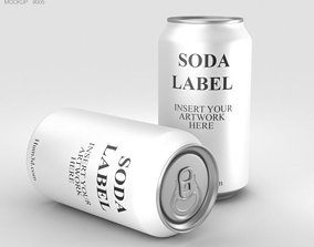 can 3D Soda Can