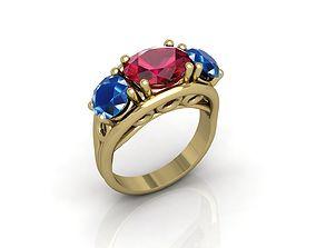 milling 3D print model Ring