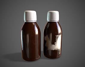 Medicine Bottles Medical 3D asset