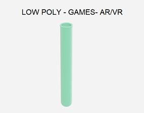 Low Poly Test Tube - Chemistry Lab 3D model