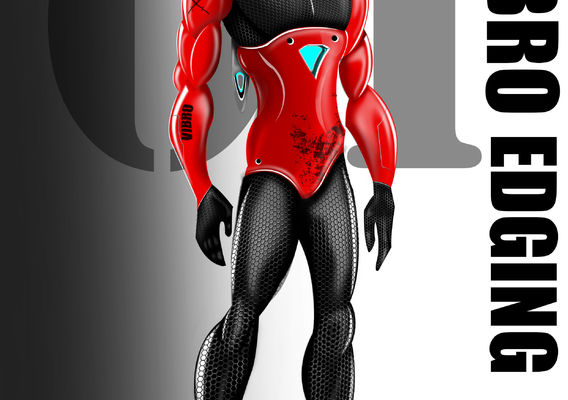 vibro edge suite inspired by iron man.