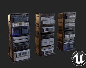 Old Server 3D model