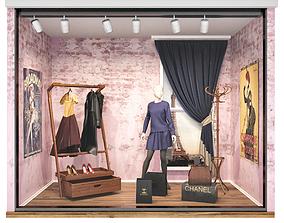 Clothes Store mall 3D model