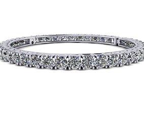 3D print model diamond bracelet 169