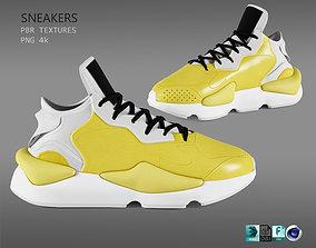 sneakers y 3D model