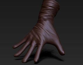 3 gloves 3D asset