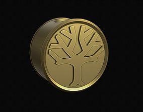 3D printable model Tree bead