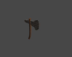 3D model Stone Age Axe