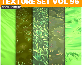 Grass Vol 96 - Game PBR Textures 3D asset