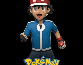games 3D printable model Pokemon - Ash Ketchum