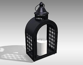 Metal Lantern 04 3D model