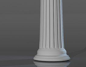 3D Modern column