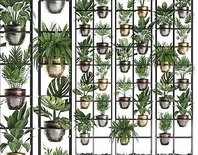 3D Plants collection Vertical gardening 27