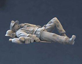 3D printable model German soldier modeling