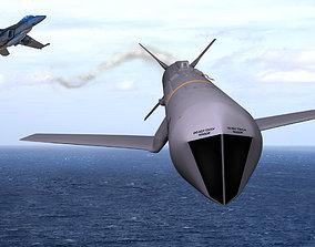 AGM-84K SLAM-ER v2 3D model