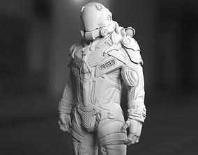 Sci-Fi Space Ingineer 3D