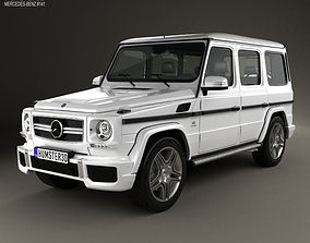 3D model Mercedes-Benz G-Class 65 AMG 2013