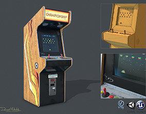 Game Machine PBR 3D asset