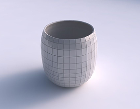 3D print model Bowl cylindrical with grid plates