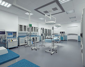 3D model Operating room care
