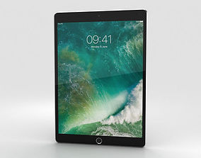 3D Apple iPad Pro 10-5-inch 2017 Cellular Space Gray