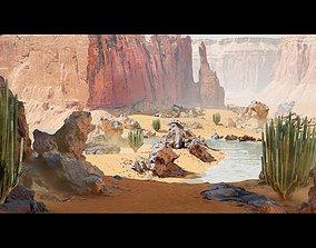3D model Unreal Desert