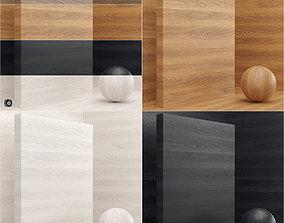 3D Material wood veneer slab seamless
