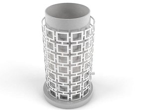 3D Tower Lampshade