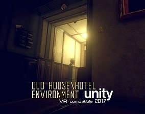 Old House or Hotel Unity Pack 3D asset