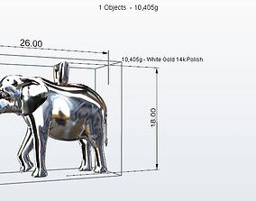 jewelry elephant 3D print model