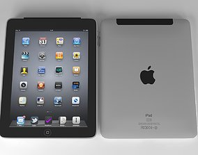 Ipad One Cellular 3D