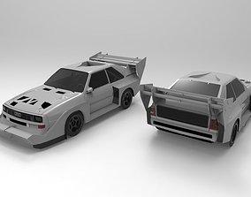 Audi Sport Quattro S1 Pikes Peak 3D model