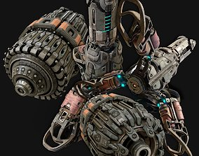 sci-fi parts collection - PBR 3D model