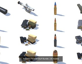 3D model Firearms Tactical Stuff Bundle