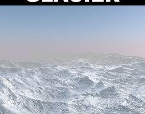 Glacier 3D model