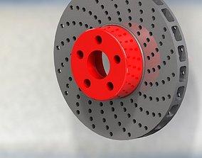3D model brake disk bridgestone