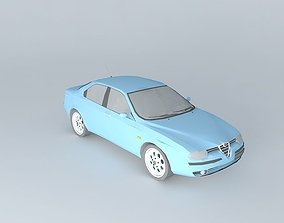 3D model Alfa Romeo 156